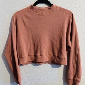 Cropped Turtle Neck Sweater